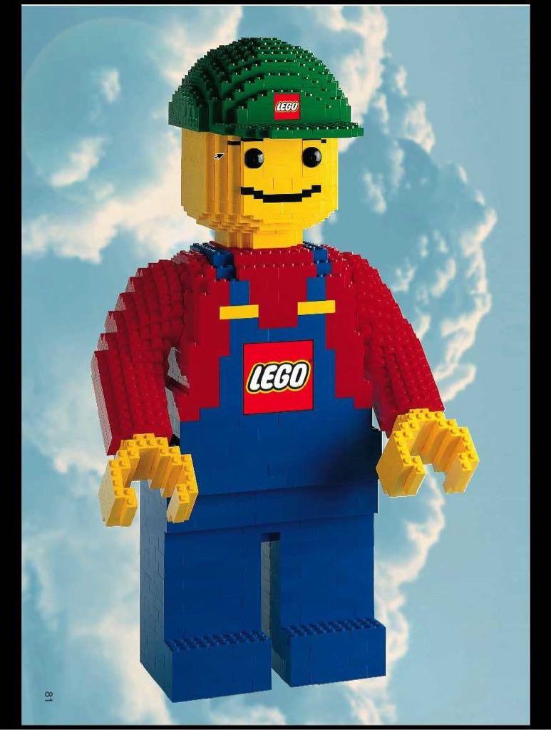 Minifigure LEGO - Sculpture (3723) front image (front cover)