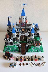 Lego Castle #6091 Knights Castle King Leo's Castle ! LEGO