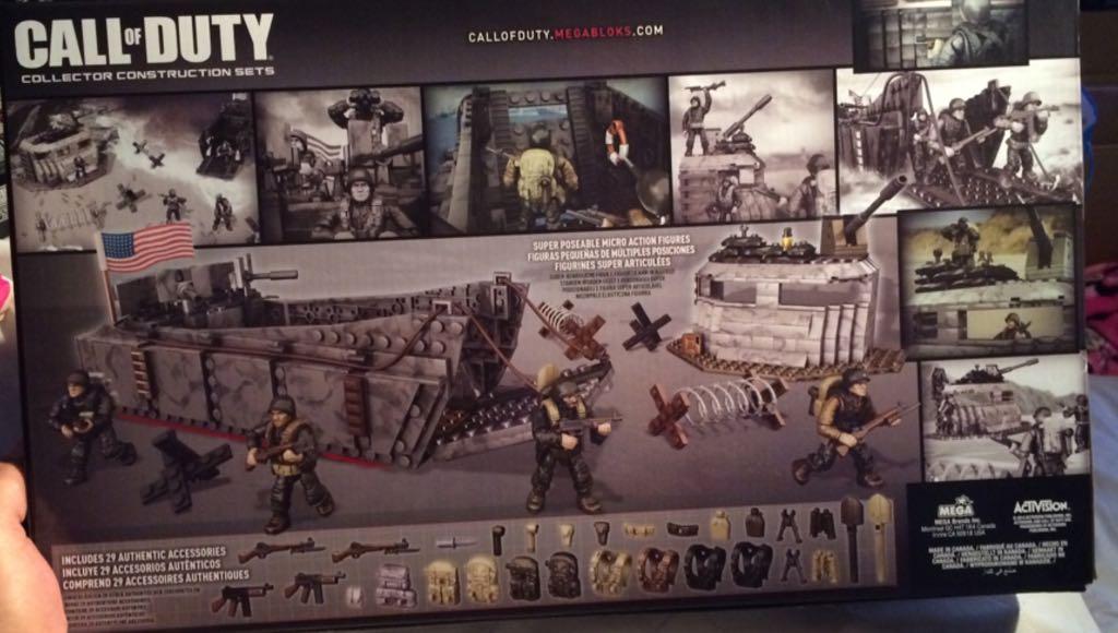 Call Of Duty: Landing Craft Invasion LEGO
