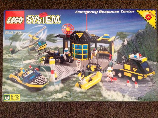 Emergency Response Center LEGO - Res-Q (6479) - from Sort ...