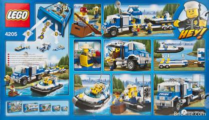 Forest Police Off Road Command Centre Lego City 4205 From