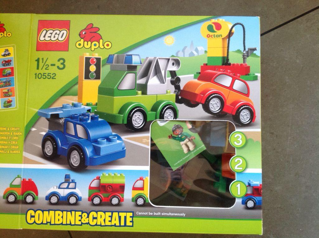 Lego Duplo Creative Cars Model 10552 40 Piece Set Ages 18 M