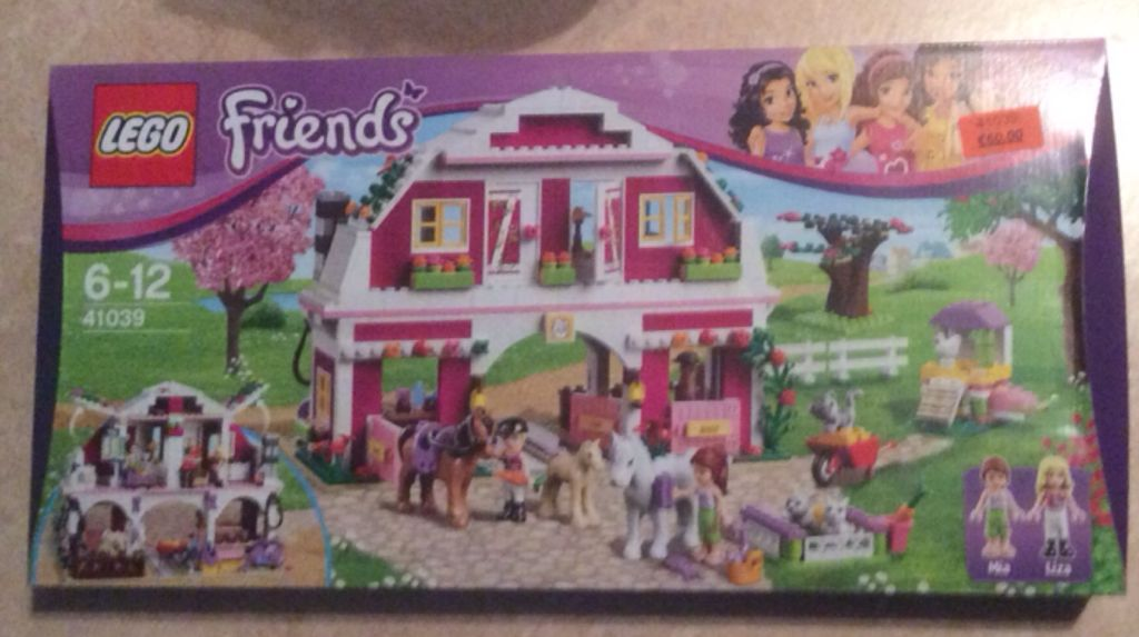 Lego Friens Le Ranch Nâ41039 Lego Friends 41039 From Sort It Apps