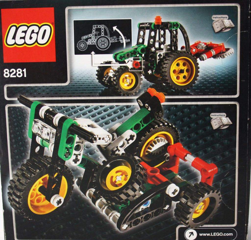 Mini Tractor LEGO - Technic (8281) - from Sort It Apps