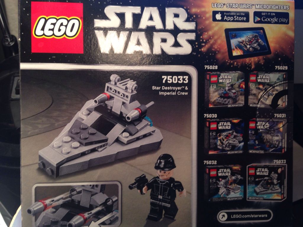 Lego Sort Star Wars75033From Destroyer Microfighters 6vbf7Ygy