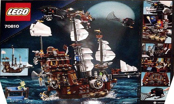 Metalbeard S Sea Cow Lego The Lego Movie 70810 From Sort It Apps