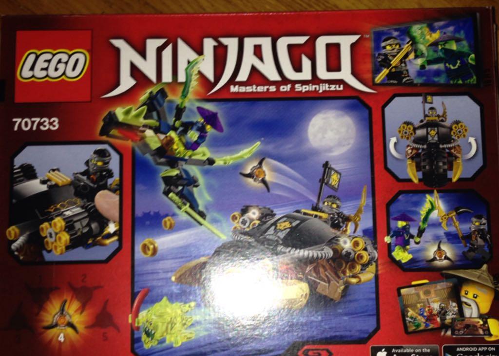 Lego Ninjago Blaster Bike Lego Ninjago 7341922920 From Sort It