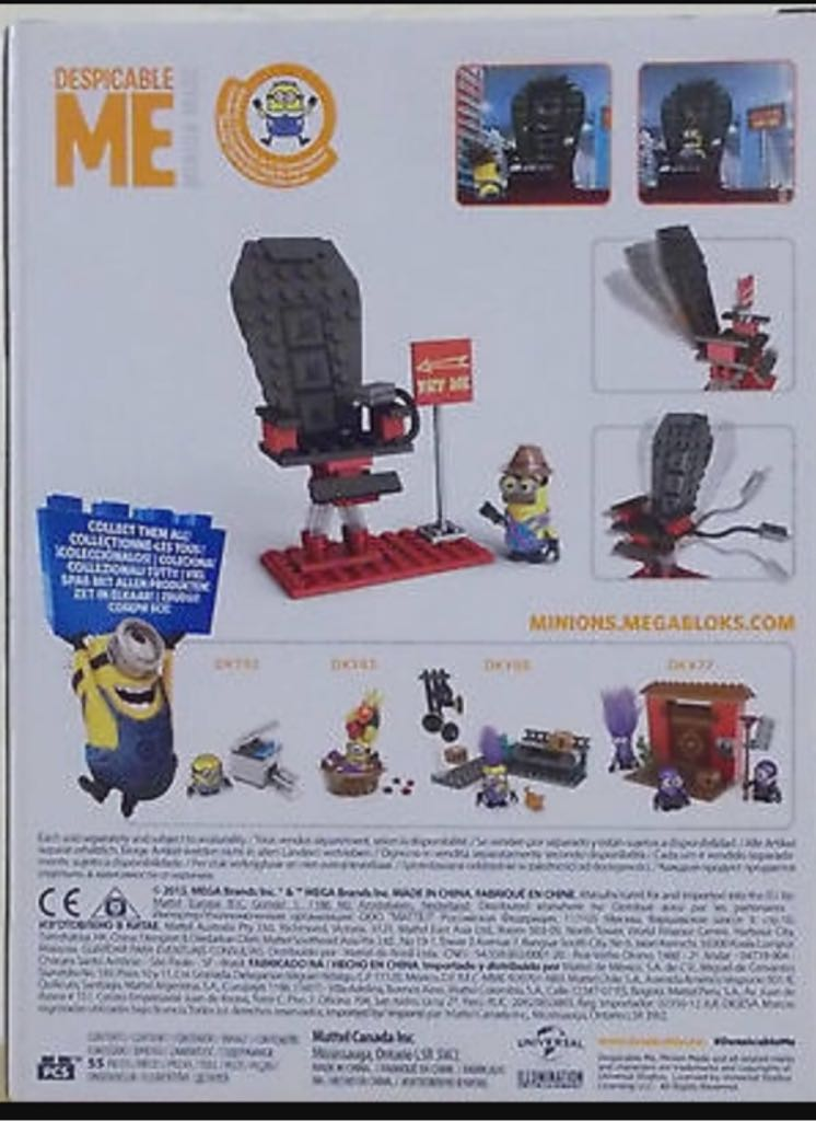 Despicable Me Chair-O-Matic #DKY84 LEGO - Minion (01) back  sc 1 st  Sort It! Apps for Collectors & Despicable Me Chair-O-Matic #DKY84 LEGO - Minion (01) - from Sort It ...