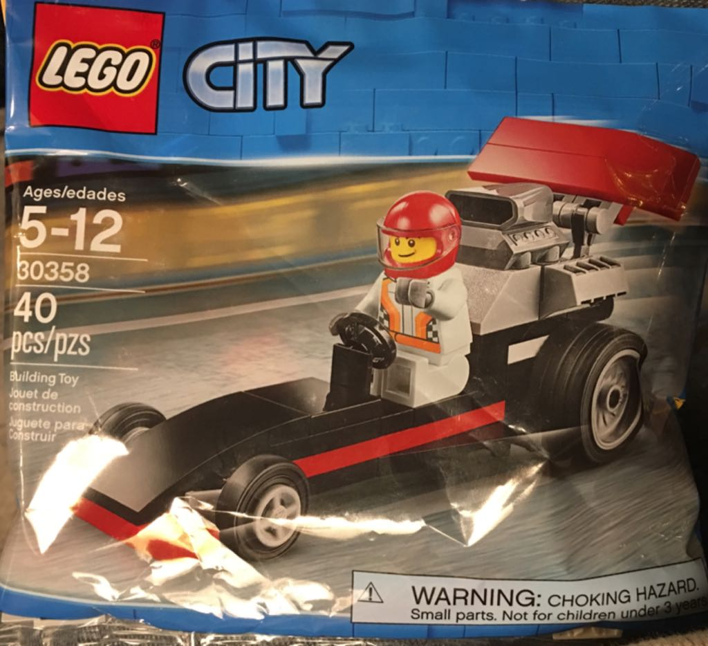 Drag Racer LEGO - City (30358) - from Sort It Apps
