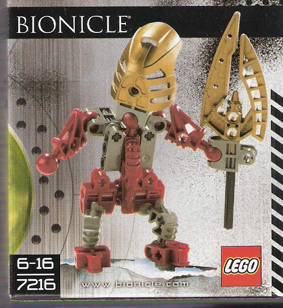 Turaga Lhikan LEGO - BIONICLE (7216) front image (front cover)