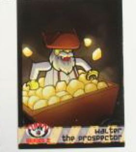 Walter the Prospector LEGO - Series 2 (N/A) front image (front cover)