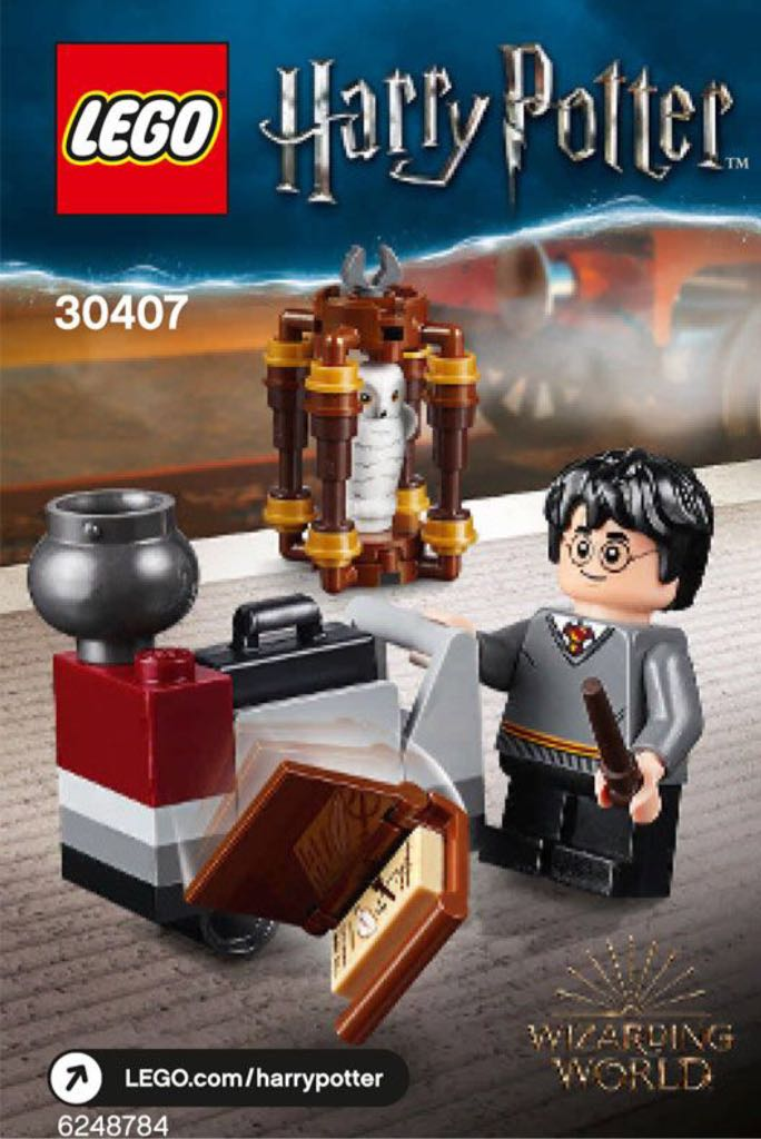 Harry´s Journey to Hogwarts LEGO - Harry Potter (30407) front image (front cover)