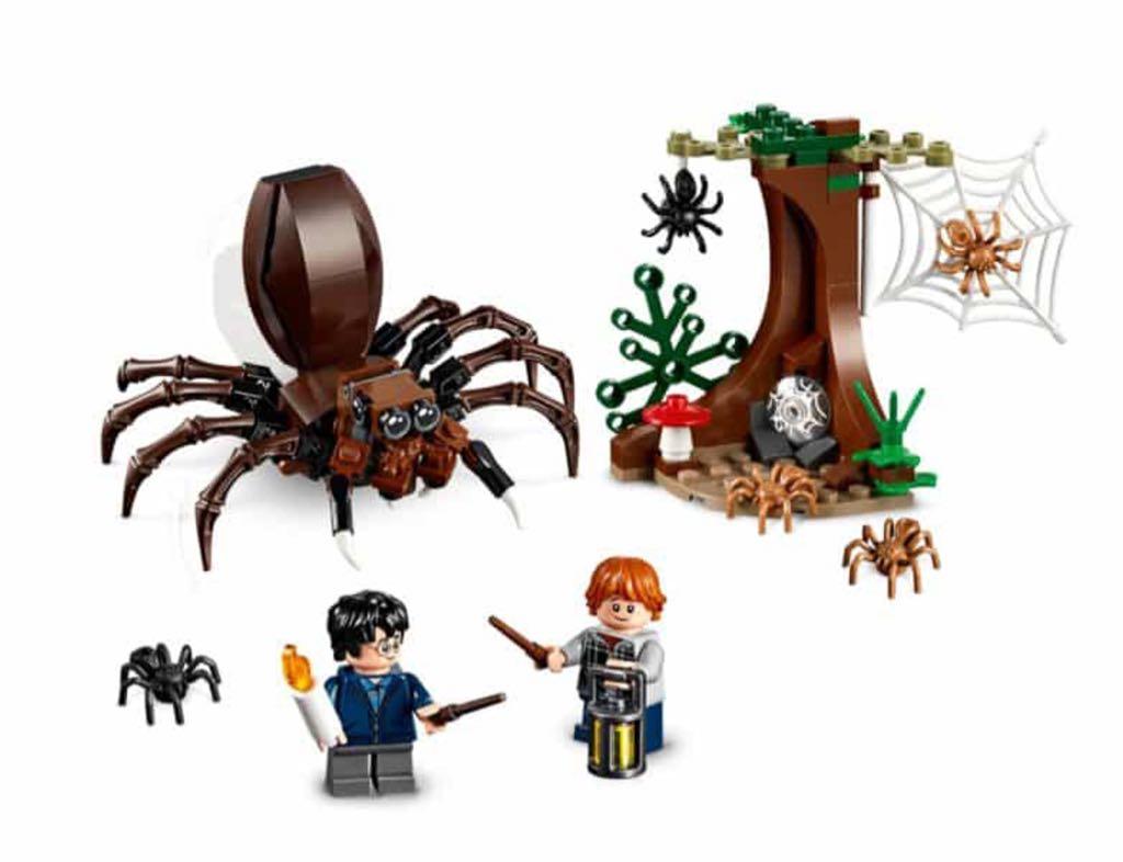 Aragog's Lair LEGO - Harry Potter (75950) back image (back cover, second image)