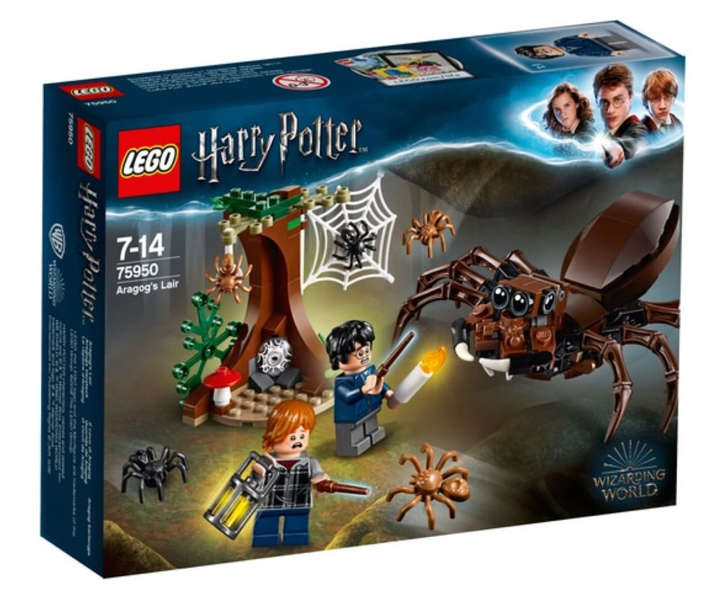 Aragog's Lair LEGO - Harry Potter (75950) front image (front cover)