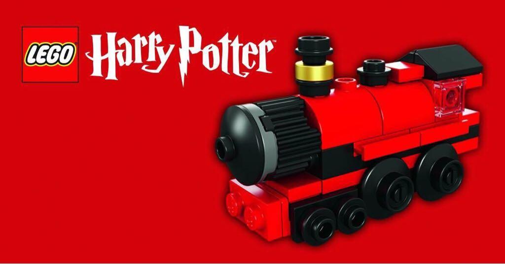 Mini Hogwarts Express LEGO - Harry Potter (40028) front image (front cover)