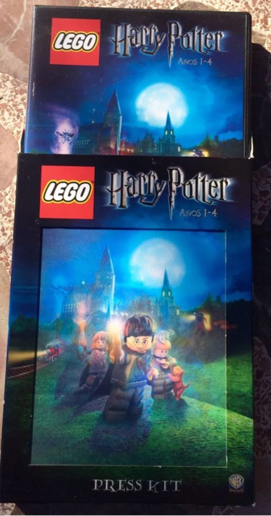 Press kit LEGO - Harry Potter (Promotional Exclusive) front image (front cover)