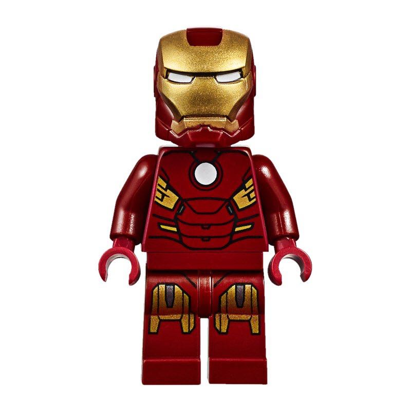 Iron Man Mk7 LEGO (00) front image (front cover)