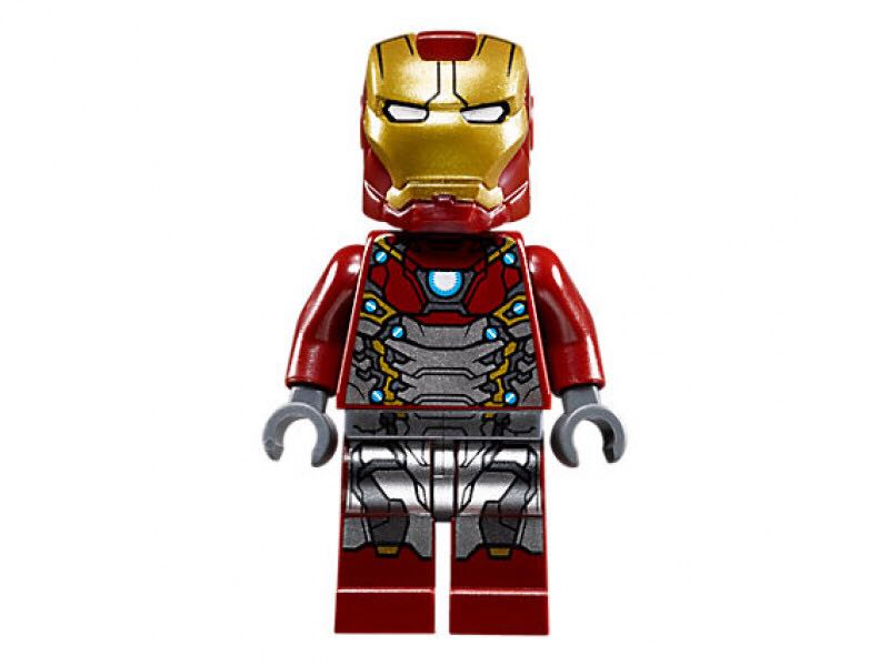 Iron Man Mk47 LEGO (00) front image (front cover)