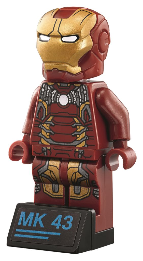 Iron Man Mk43 (alt) LEGO (00) front image (front cover)