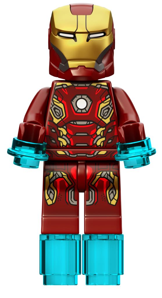 Iron Man Mk45 LEGO (00) front image (front cover)