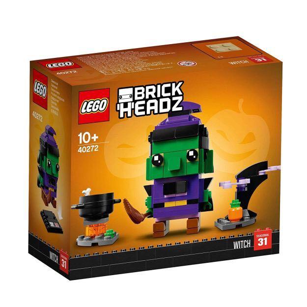Brick Headz Witch LEGO - Brick Headz (40272) front image (front cover)