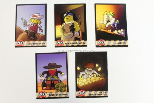 The Wooly West Funky Figs Cards LEGO - Series 2 (N/A) front image (front cover)
