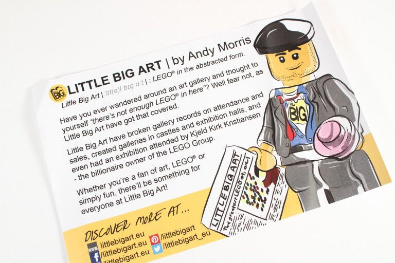 Colour By Number by Little Big Art LEGO - Brick Builders Club™ Exclusive (N/A) front image (front cover)