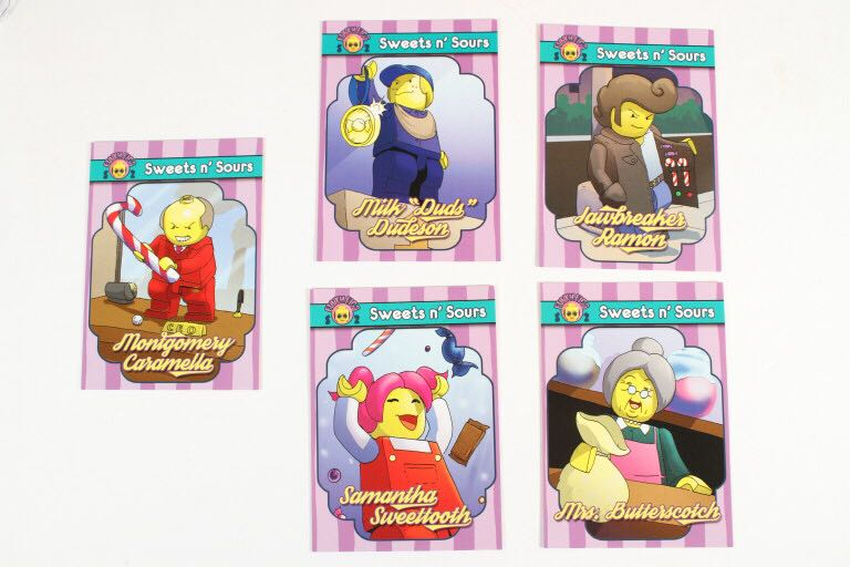 Sweets n' Sours Funky Figs Cards LEGO - Series 2 (N/A) front image (front cover)