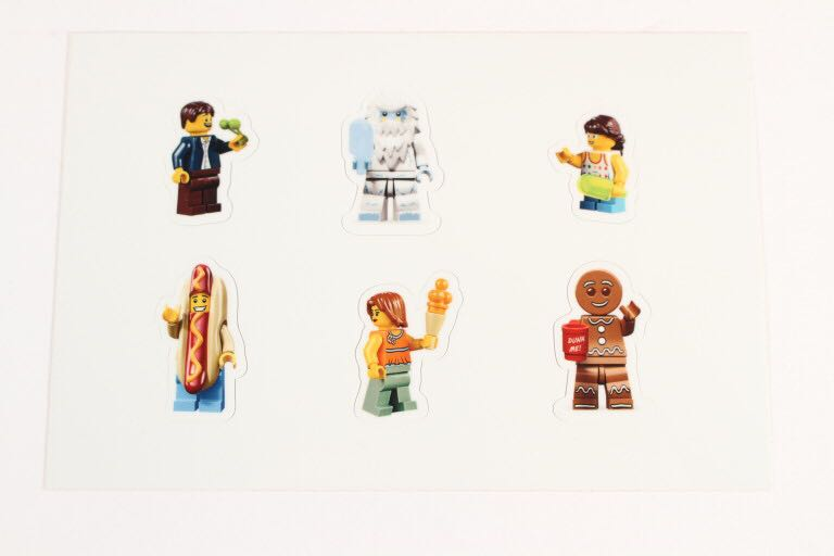 LEGO® Minifigures Stickers LEGO - Brick Builders Club™ Exclusive (N/A) front image (front cover)