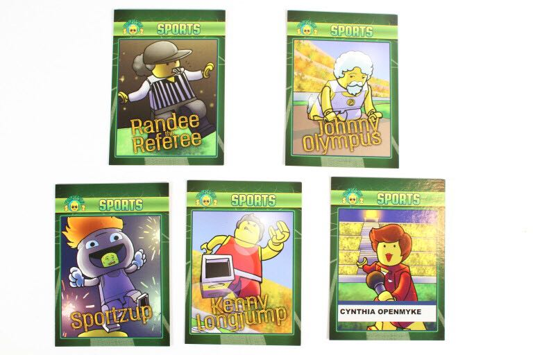 Sports Funky Figs Cards LEGO - Series 2 (N/A) front image (front cover)