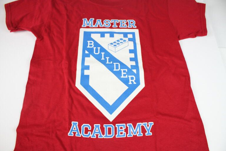 Master Builder Academy T-Shirt LEGO - Apparel (N/A) front image (front cover)
