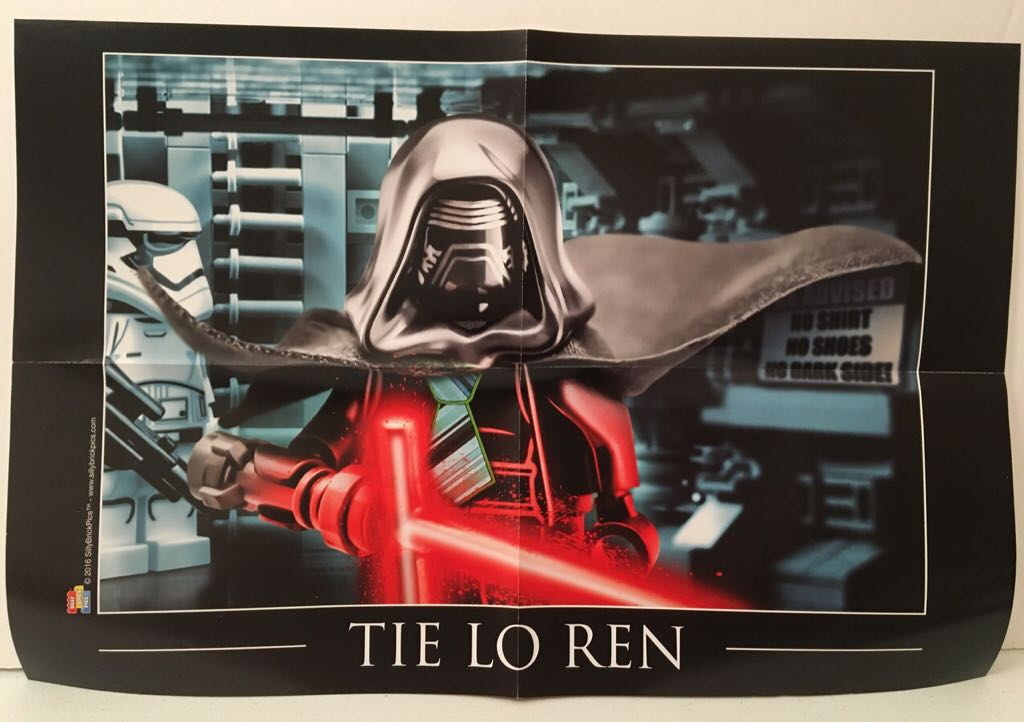 """""""Tie Lo Ren"""" Poster LEGO - Brick Builders Club™ Exclusive (N/A) front image (front cover)"""