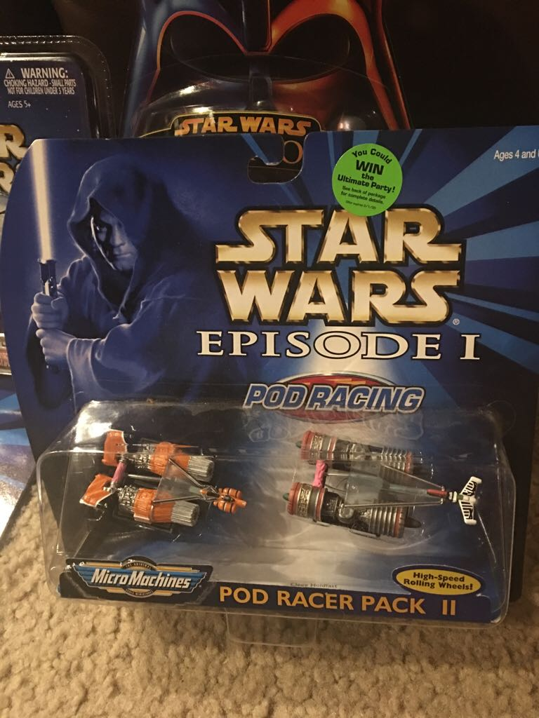 Micro Machines Pod Racing Pack 2 LEGO (77) front image (front cover)