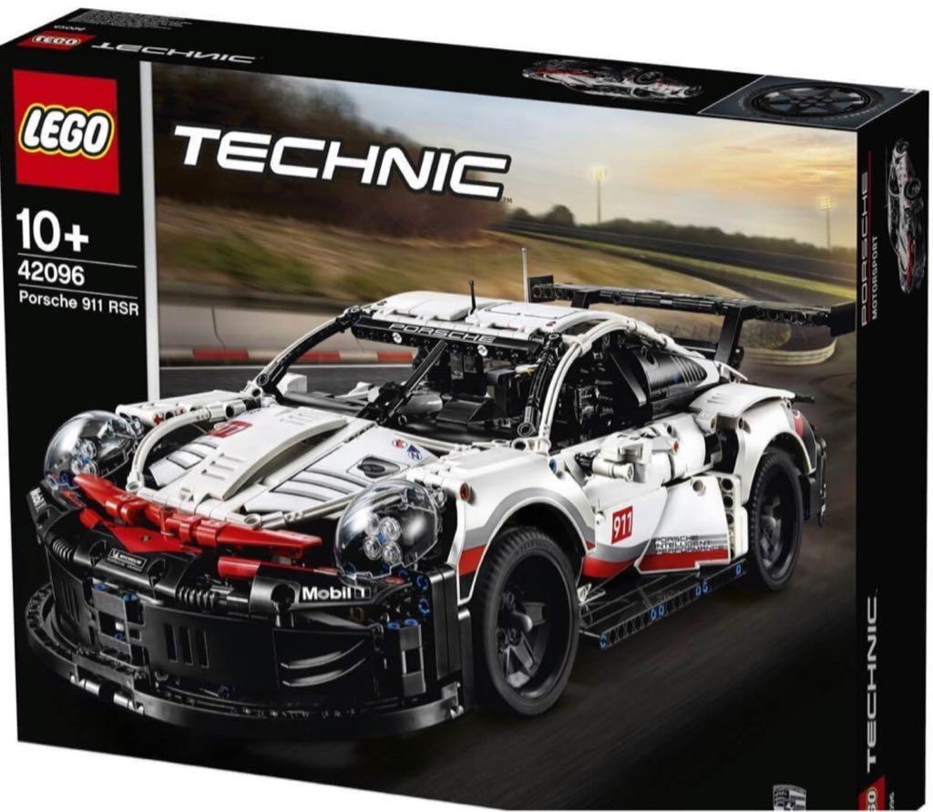 Porsche LEGO - Technic (42096) front image (front cover)