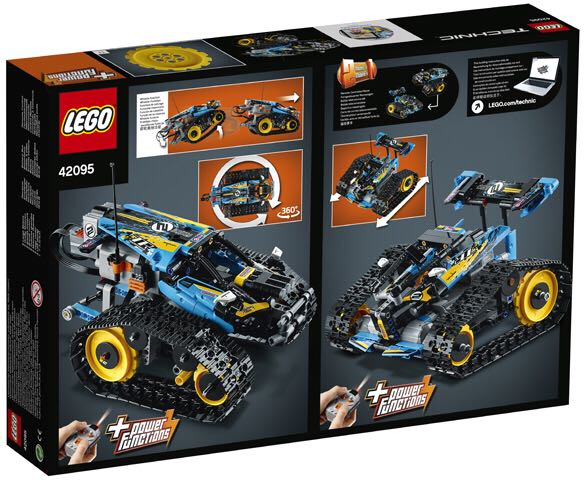 RC Stunt Racer LEGO - Technic (42095) back image (back cover, second image)