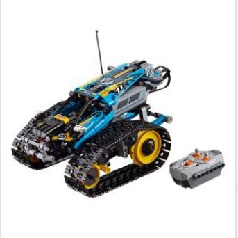 RC Stunt Racer LEGO - Technic (42095) front image (front cover)