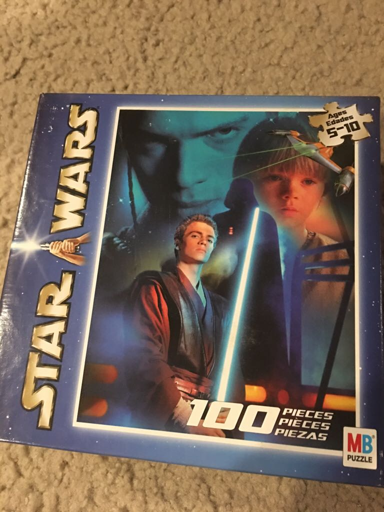 100 Piece Anakin Puzzle LEGO (131) front image (front cover)