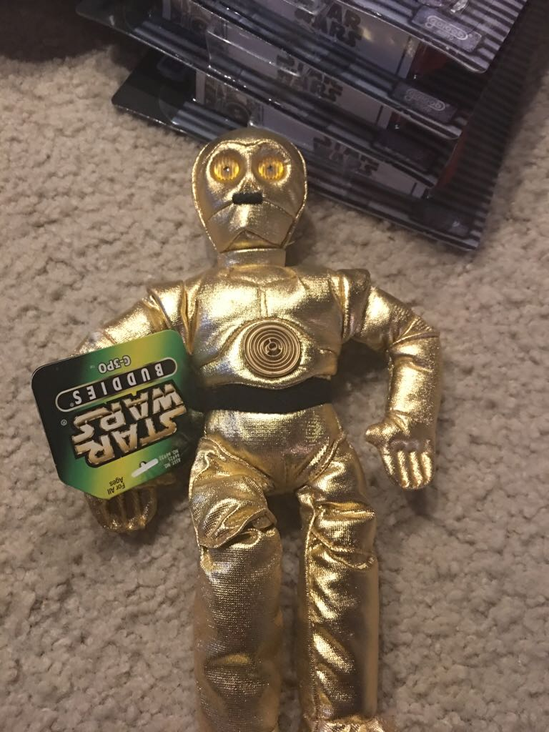 Buddies C3po LEGO (135) front image (front cover)