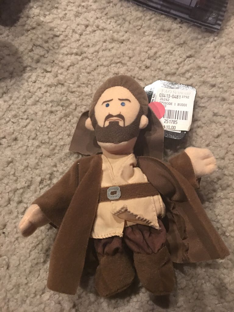 Buddies Qui Gon LEGO (137) front image (front cover)