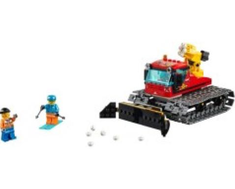 60222 Snow Groomer LEGO (60222) back image (back cover, second image)