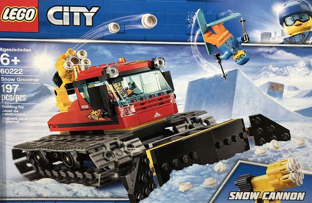 60222 Snow Groomer LEGO (60222) front image (front cover)