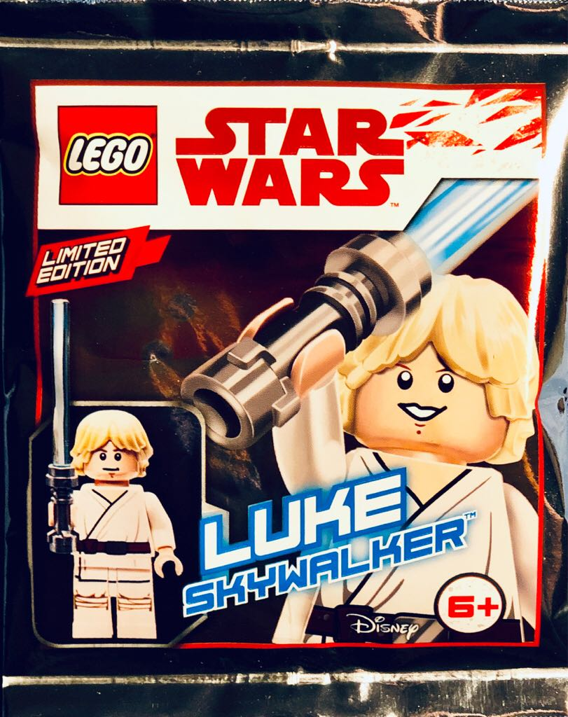 Luke Skywalker LEGO - Star Wars (911943) front image (front cover)