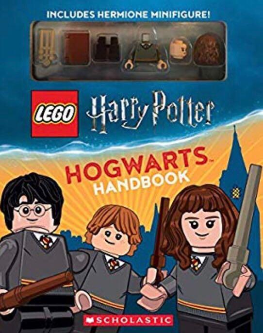 Scholastics Handbook + Minifigure Hermione LEGO - Harry Potter (BOOKS) front image (front cover)