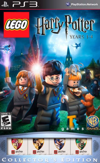 Tt Game Yr 1-4 PS3 LEGO (TT GAMES) front image (front cover)