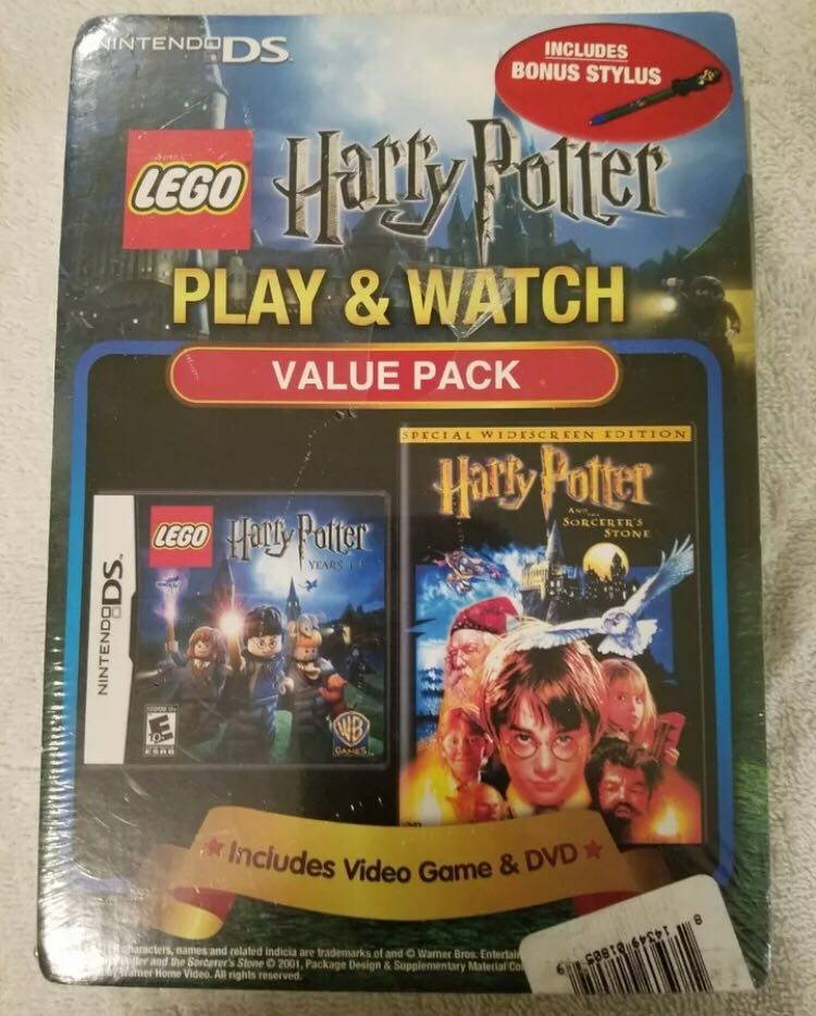 Tt Game Yr 1-4 DS VALUE PACK LEGO (TT GAMES) front image (front cover)