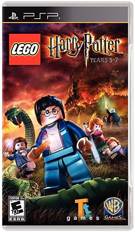 Tt Game Yr 5-7 PSP LEGO - Harry Potter (TT GAMES) front image (front cover)