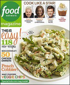 Food Network: Cook Like a Star! Magazine - 2013 (September) front image (front cover)