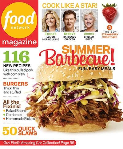 Food Network: Cook Like a Star! Magazine - 2013 (June) front image (front cover)