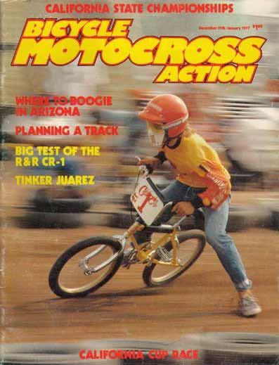 BMX Action Magazine front image (front cover)