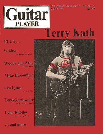 Guitar Player: Terry Kath Magazine front image (front cover)